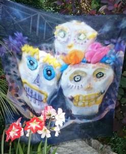 skull cakes